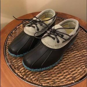 LL Bean moccasin duck gum boots